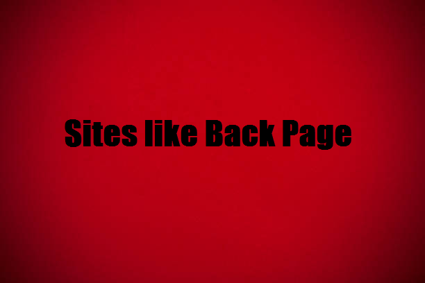 Sites like back page