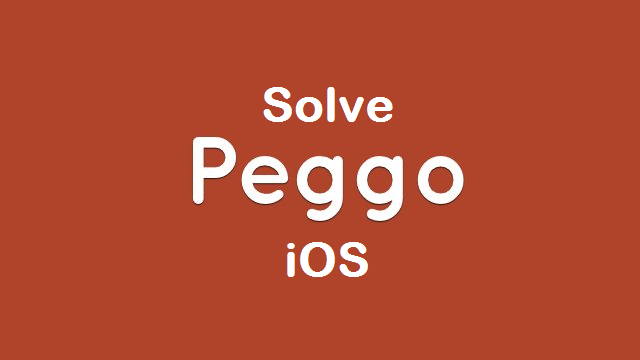 Peggo iOS not working