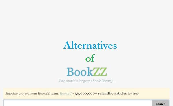 Bookzz.org alternatives