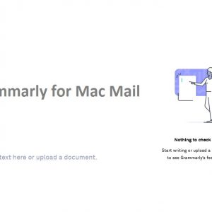 Grammarly for Mac Mail usage