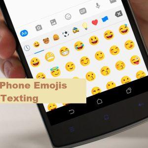 Phone emojis