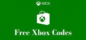 Free Xbox codes